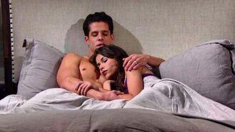 Luca Marisa cuddle
