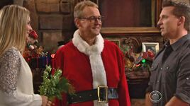 Santa Paul marries Sharon & Dylan