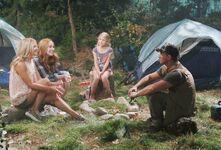 Shylan family camping