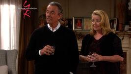 Nikki and Victor drinks