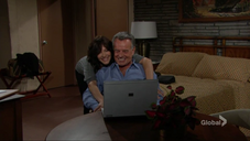 Patty & Ian laughing