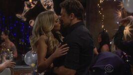 Mark Kisses Abby