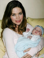 Victoria & Baby Reed