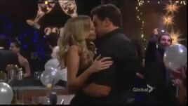 Harding kisses Abby