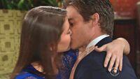 Natalie Kevin kiss