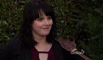 Tessa smiling