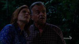Phyllis & Ian star gazing