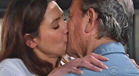 Meredith Victor kiss 1