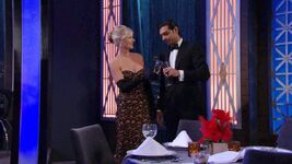Ashley & Ravi get close Opera toast