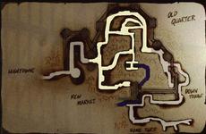 Newmarket map