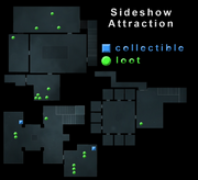 Sideshow Attaction Loot Map
