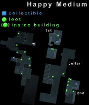 Happy Medium Loot Map