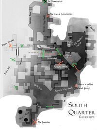 South Quarter game hub map