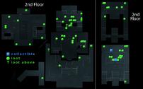 Bank Heist Loot Map