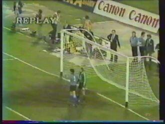 1980 (June 21) Italy 1-Czechoslovakia 1 (European Championship)