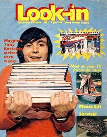 Look In first issue 1971-01-09
