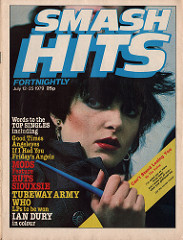 Smash Hits, July 12 - 25, 1979 - p.01 Siouxsie cover