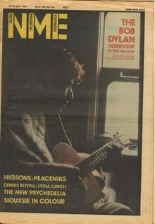1981-08-15 NME Bob Dylan