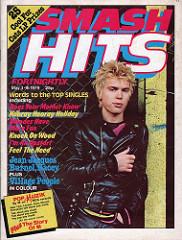 Smash Hits May 3 1979 p.01 Billy Idol