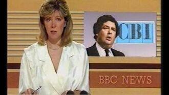 BBC 9 O'Clock News & Weather - 26th June 1985