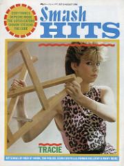 Smash Hits, July 21, 1983 - p.01 Tracie
