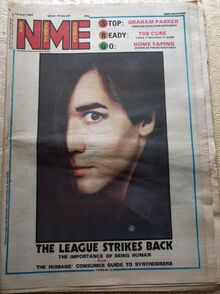 1980-07-12 NME Oakey cover