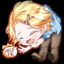 Yoosung the crying baby by harumushi2-damy9m8
