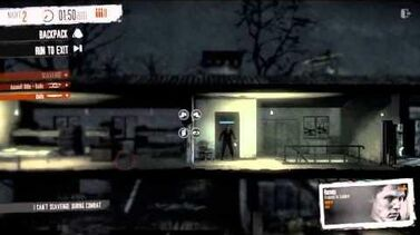 Military Outpost, Roman Knife Only - This War of Mine
