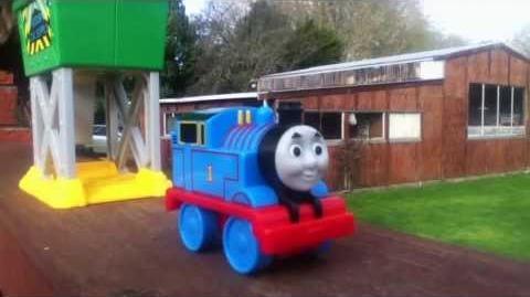 Thomas and friends Coal Hooper launcher Mini review