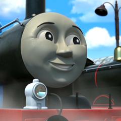 Edward in The Adventure Begins
