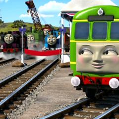 Daisy in Sodor's Legend of the Lost Treasure