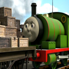 Percy in King of the Railway
