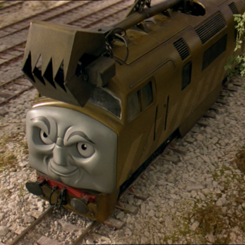 Diesel 10 in Thomas and the Magic Railroad