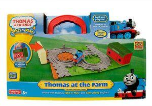 Thomas at thhe farm