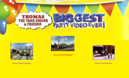 Thomas The Tank Engine and Friends - Biggest Party Video Ever! (1998) - Scene Selection 4