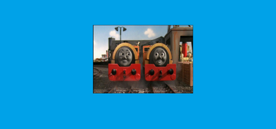 Bill and Ben in Thomas and Friends the Magical Railroad Adventures