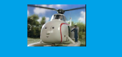 Harold in Thomas and Friends the Magical Railroad Adventures