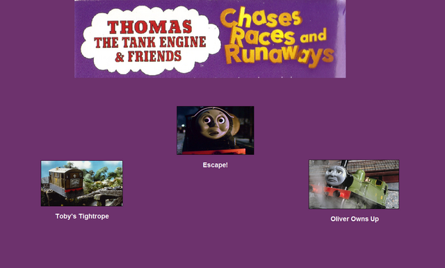 File:Thomas The Tank Engine and Friends - Chases, Races and Runaways (1997) - Scene Selection 5.png