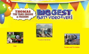 Thomas The Tank Engine and Friends - Biggest Party Video Ever! (1998) - Scene Selection 5