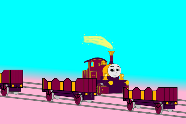 File:Lady passes the other Line of Open-Topped Carriages.png