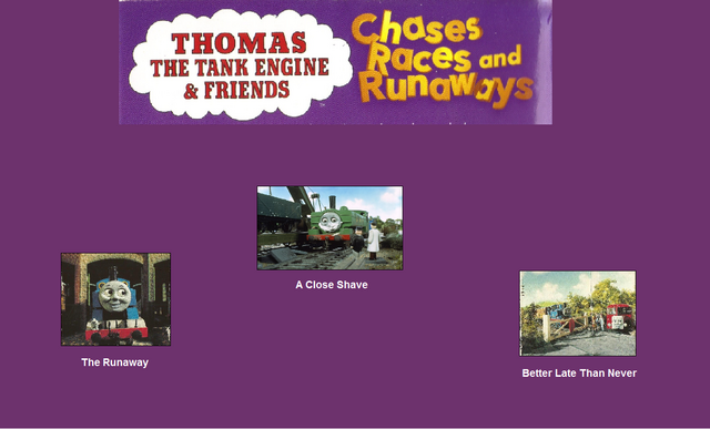 File:Thomas The Tank Engine and Friends - Chases, Races and Runaways (1997) - Scene Selection 3.png