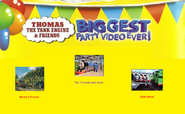 Thomas The Tank Engine and Friends - Biggest Party Video Ever! (1998) - Scene Selection 3
