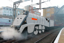 Nibbles the Silver Engine
