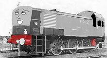 Thomasis the lazy diesel