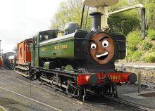 Crazyteddyx the gwr engine
