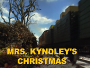 Mrs.Kyndley'sChristmas