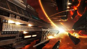 United Empire Space Battle