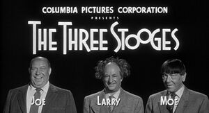 Three Stooges Intro Card 1958