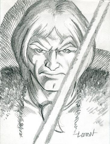 File:Thundarr Sketch by LostonWallace.jpg