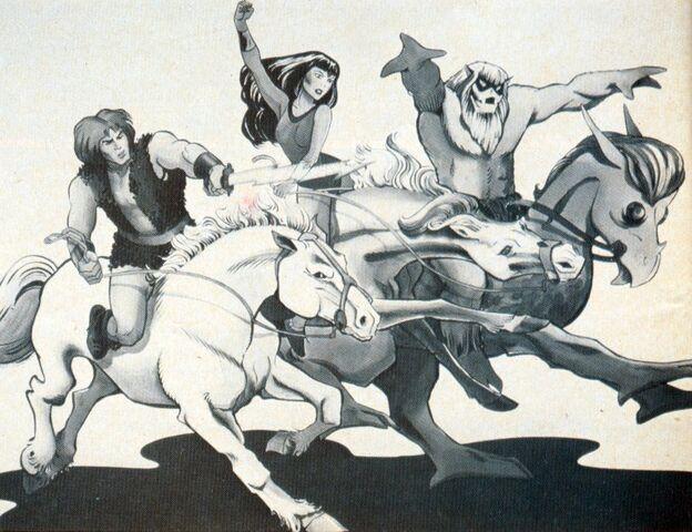 File:Thundarr, Arial & Ookla on Horseback - Kirby.jpg